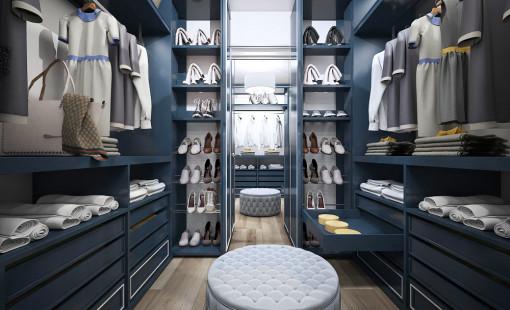 Обустройство гардеробной в квартире